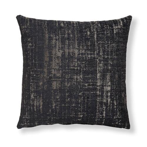 Kave Home - Nazca Kissenbezug 45 x 45 cm, schwarz