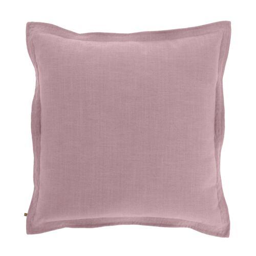 Kave Home - Maelina Kissenbezug 60 x 60 cm, rosa