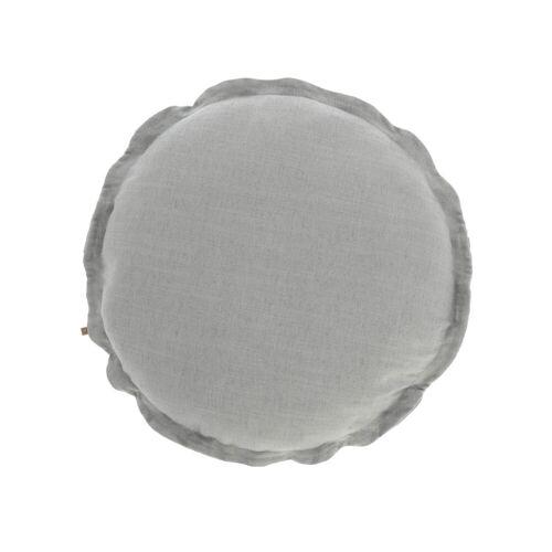 Kave Home - Maelina Kissenbezug Ø 45 cm, grau
