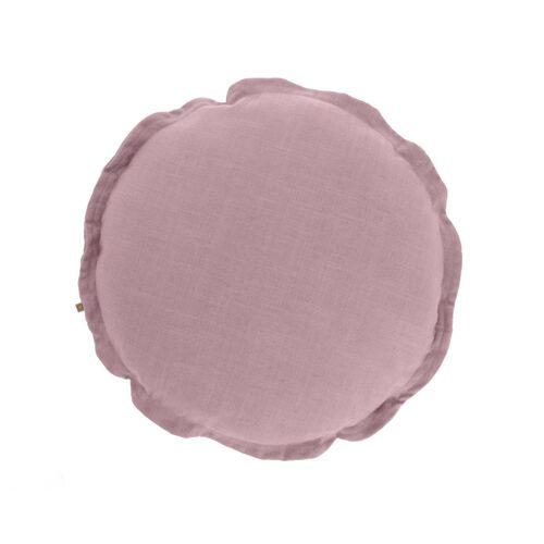 Kave Home - Maelina Kissenbezug Ø 45 cm, rosa