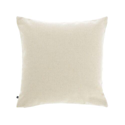 Kave Home - Nedra Kissenbezug 45 x 45 cm, beige