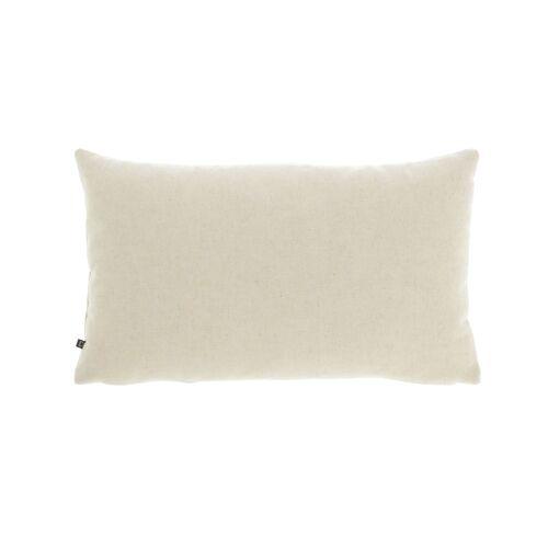 Kave Home - Nedra Kissenbezug 30 x 50 cm, beige