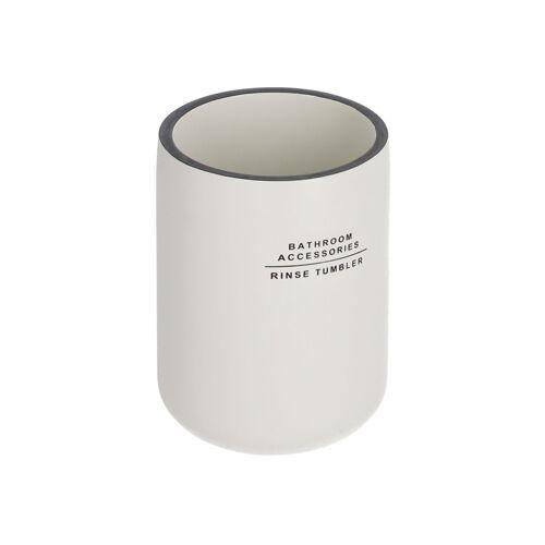 Kave Home - Lali Zahnbürstenhalter weiß