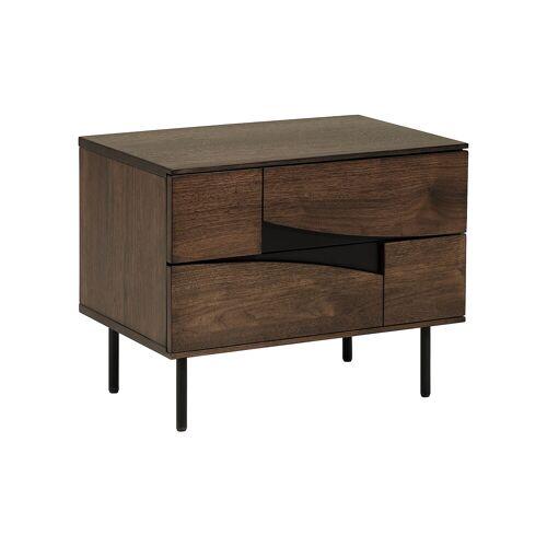 Kave Home - Cutt Nachttisch 60 x 51 cm