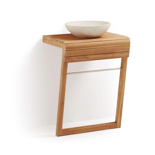 Kave Home - Kuveni Waschtisch und Handtuchhalter 60 x 92 cm