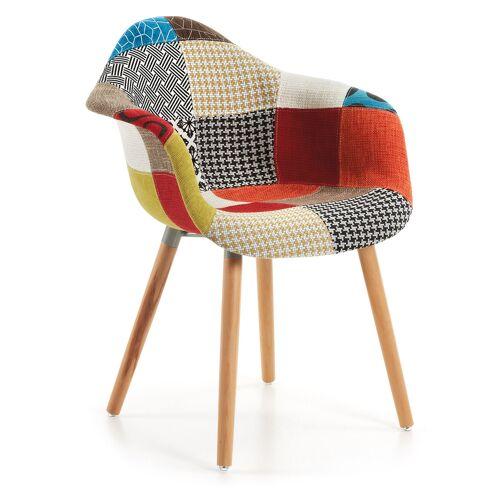 Kave Home - Kevya mehrfarbiger Patchwork Sessel