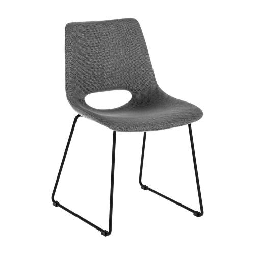 Kave Home - Zahara grauer Stuhl