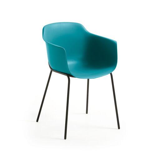 Kave Home - blauer Khasumi Stuhl