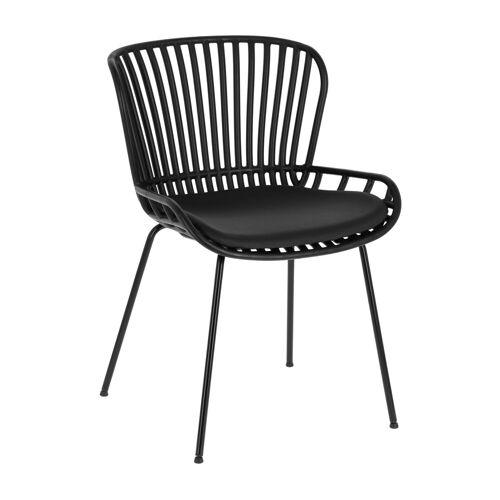 Kave Home - Surpik schwarzer Stuhl