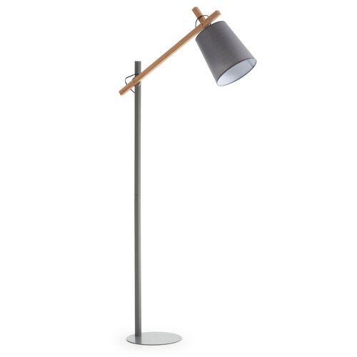 Kave Home - Kosta Stehlampe, grau