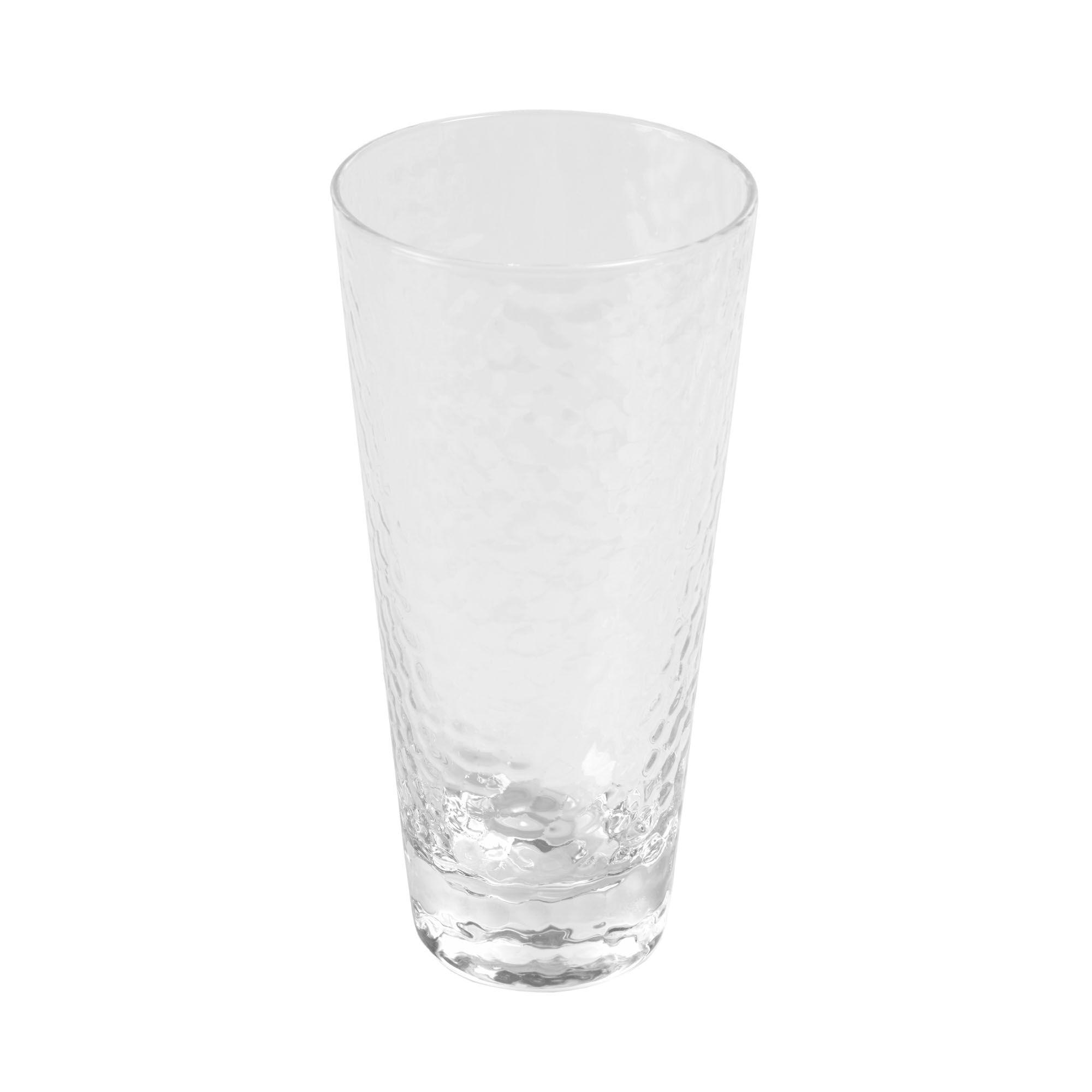 Kave Home - Dinna großes, transparentes und graues Glas