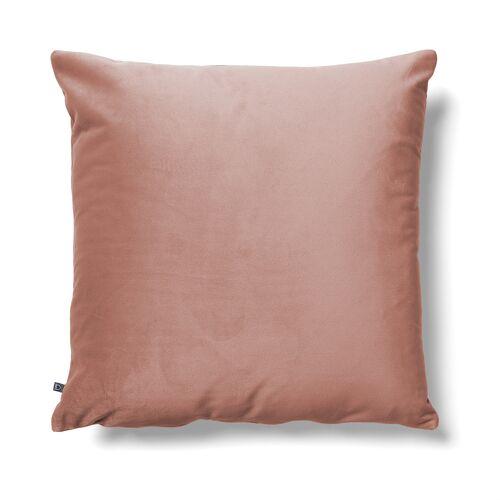 Kave Home - Lita Kissenbezug 45 x 45 cm, rosa Samt