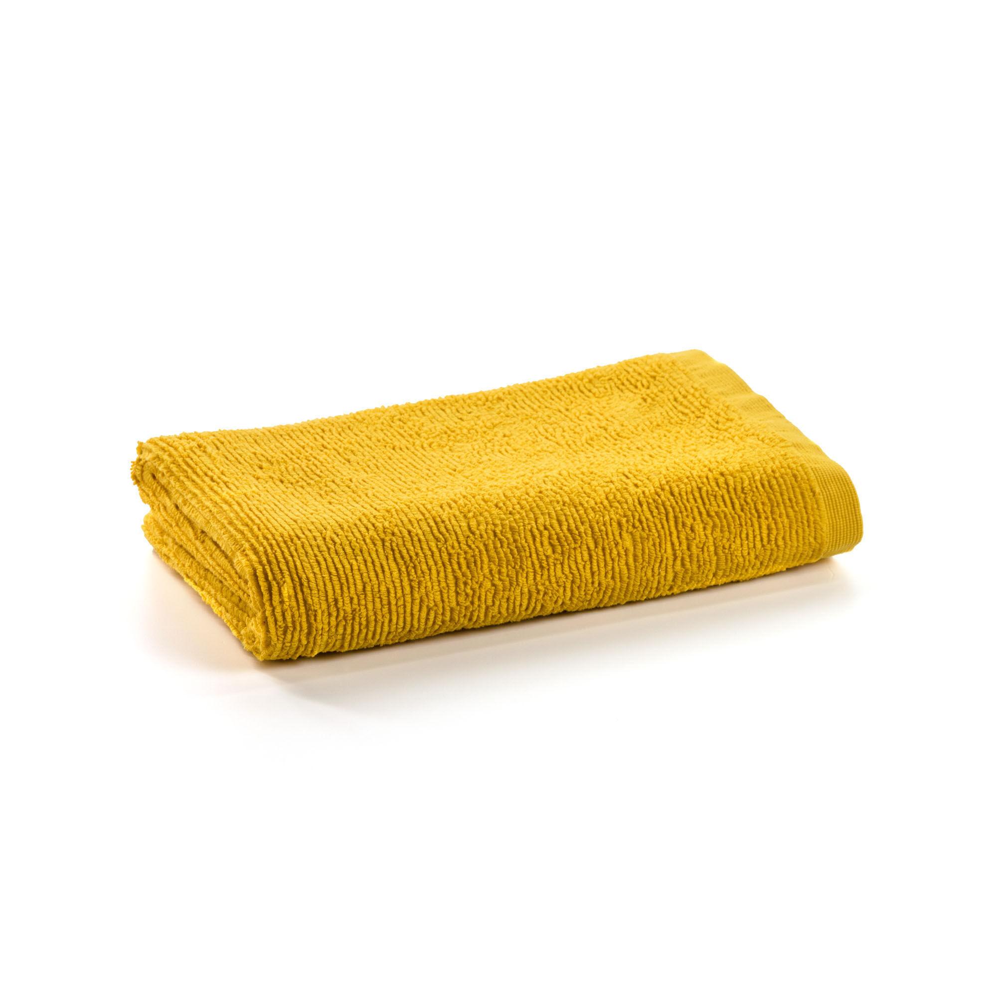 Kave Home - Miekki kleines Handtuch Bad, senfgelb