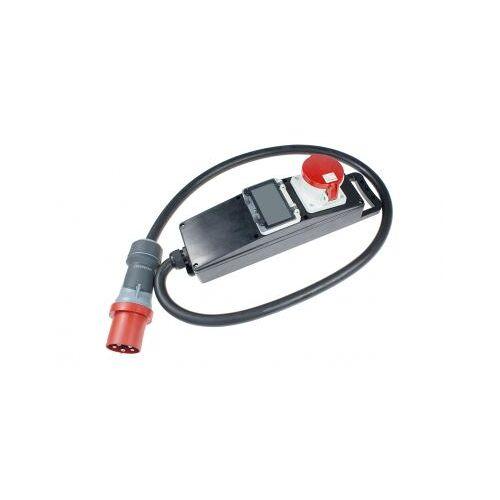 AS Schwabe Vollgummi-Steckdosenleiste mit Stromzähler AS Schwabe