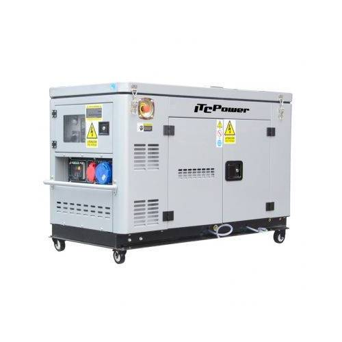 ITC Power Schalldichter Dieselgenerator 12,5KVA ITC Power DG12000XSE-T