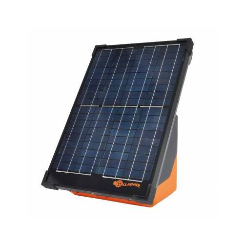 Gallagher Solar-Weidezaungerät S200 mit 2 Akku (12V - 2,0 J) Gallagher