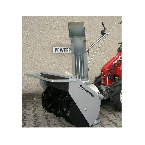 PowerPac Schneefräse 80cm PowerPac