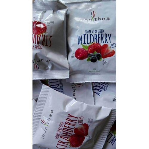 Monthea GmbH Bio Erdbeer Fruchtchips - Monthea