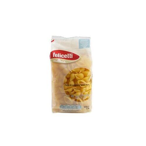 Pastificio Felicetti s.r.l. Felicetti Conchiglie Grano Duro - Muschelnudeln aus Hartw...