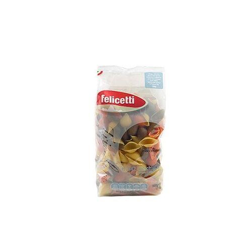 Pastificio Felicetti s.r.l. Felicetti Conchiglie Tricolore - dreifarbige Eiernudeln i...