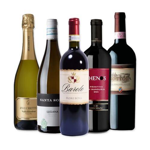 Vinusta Tasting wine box - 5 Flaschen für eine italienische Verko...