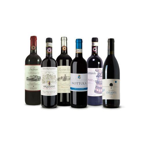 Vinusta Best of Chianti Box - 6 Flaschen zum Verlieben in den ber...