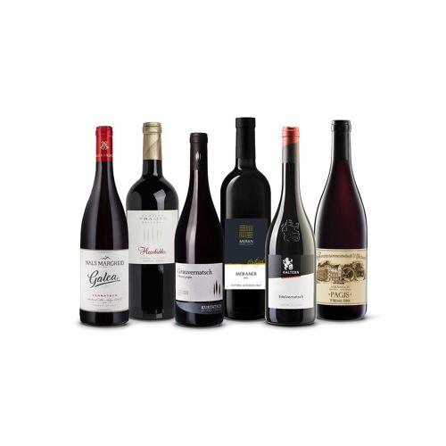 Vinusta Selection Vernatsch - 6 Flaschen des fruchtigen Rotwein S...