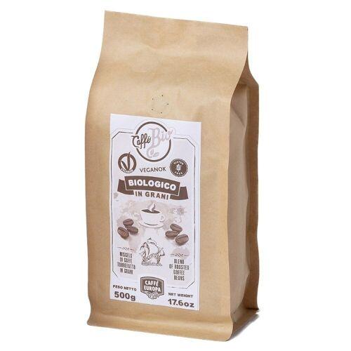 Caffè Europa Kaffee Bio, 100% Arabica, Kaffeebohnen, 500 g - Caffè Europa