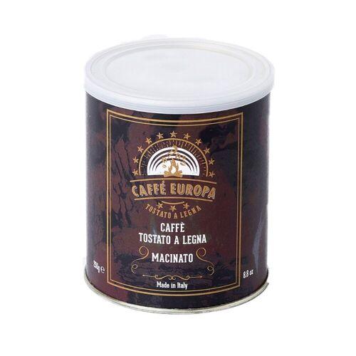 Caffè Europa 100% Arabica, gemahlen, Holzröstung, 250g, in Dose - Caffè Europa