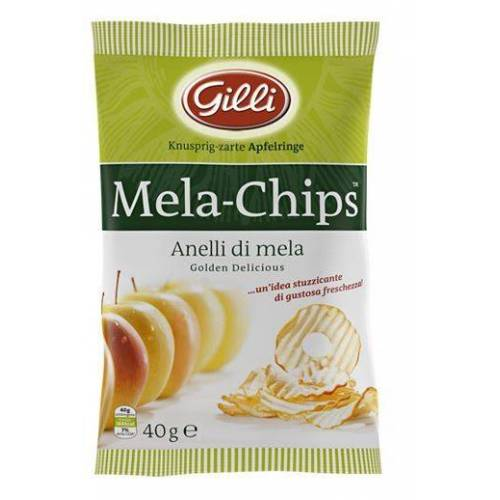 Gilli Apfelchips Golden Delicious - knusprige Apfelringe ...