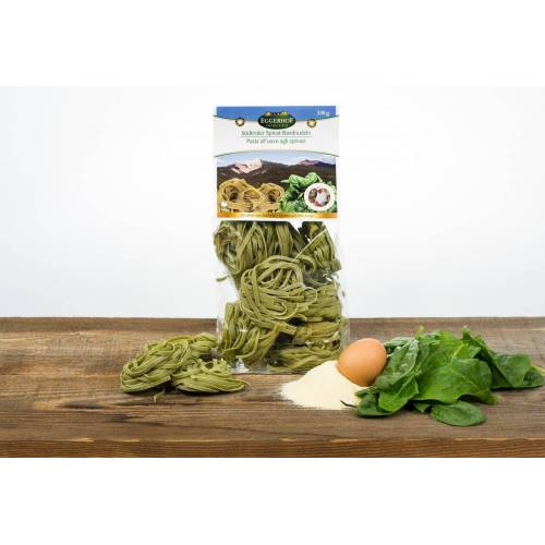 Eggerhof Aldein Eggerhof Spinat Fettuccine aus Südtirol - Eierbandnudeln ...