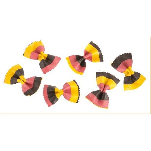 Marabotto Schmetterlingsnudeln in den Farben der Deutschen Flagge 2...