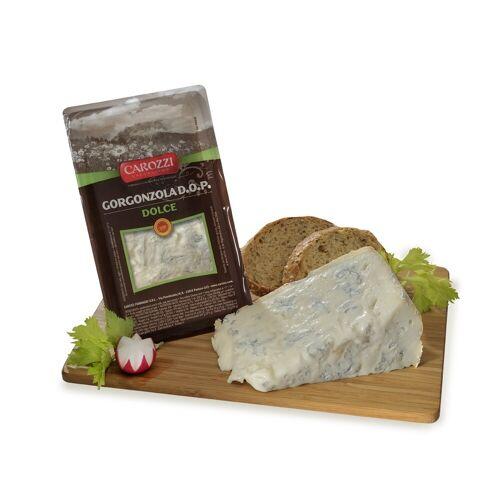 Carozzi Formaggi Gorgonzola DOP Dolce, Blauschimmelkäse süß, 200 gr. - Carozz...
