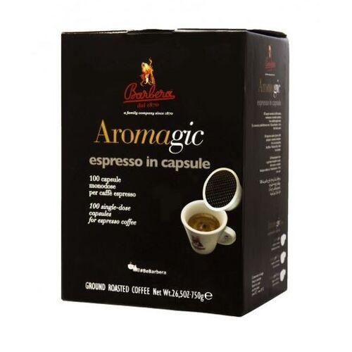 Barbera Kaffee Aromagic Espresso Kapseln 100 Stück - Barbera