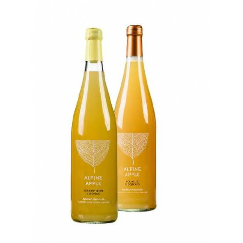 """Epflsoft Apfelsaft Alpine Apple """"Der Exotische"""", 0,75 Liter Flasch..."""