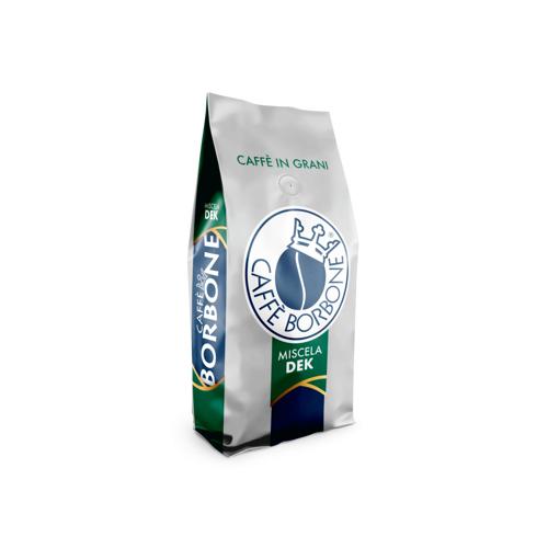 Caffè Borbone Miscela Dek (entkoffeiniert), Kaffeebohnen, 1 kg - Caffè Bo...