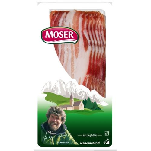 Moser GmbH Pancetta - Bauchspeck geschnitten, 70g - Moser Speck