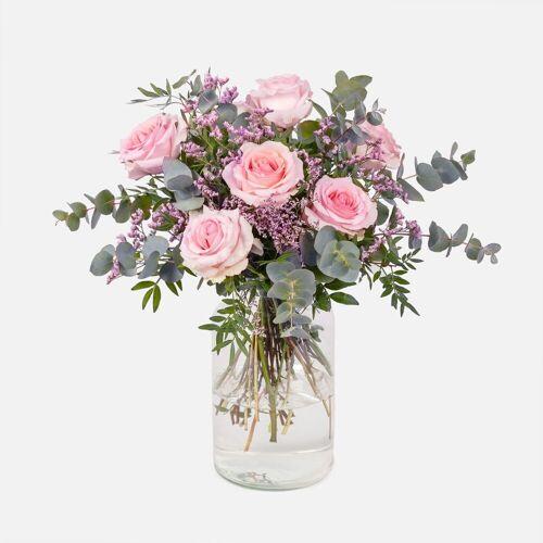 Colvin Blumen Verschicken - Blumenstrauß mit Rosen und Limonium - SUNDAYS Blumenstrauß - Colvin