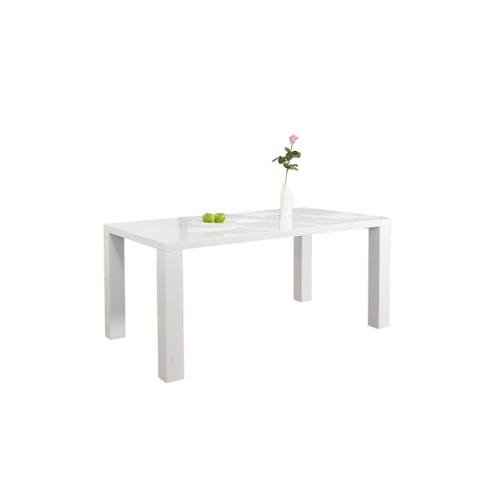 SalesFever Esstisch 140 x 90 cm weiß