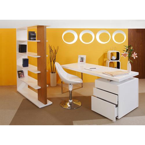 SalesFever Schreibtisch 160 x 70 cm weiß
