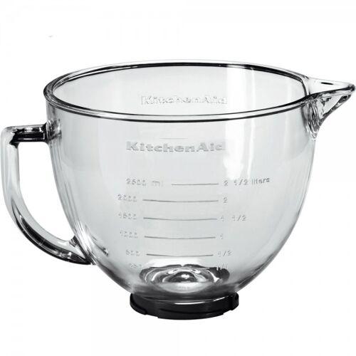 KitchenAid Zubehör Glasschüssel mit 4,8 L Inhalt 5KSM5GB