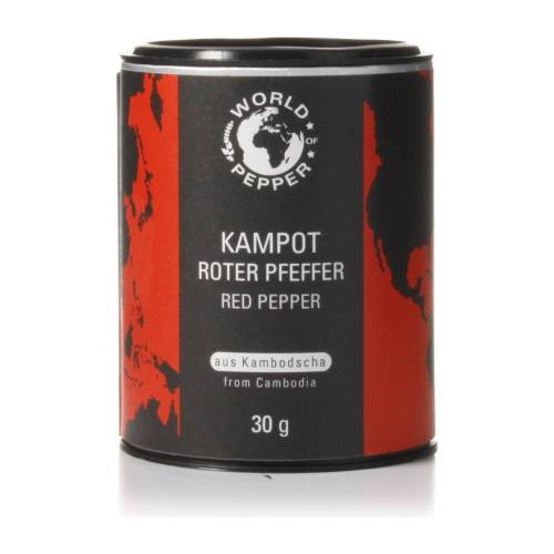 World of Pepper Echter roter Kampot Pfeffer - World of Pepper