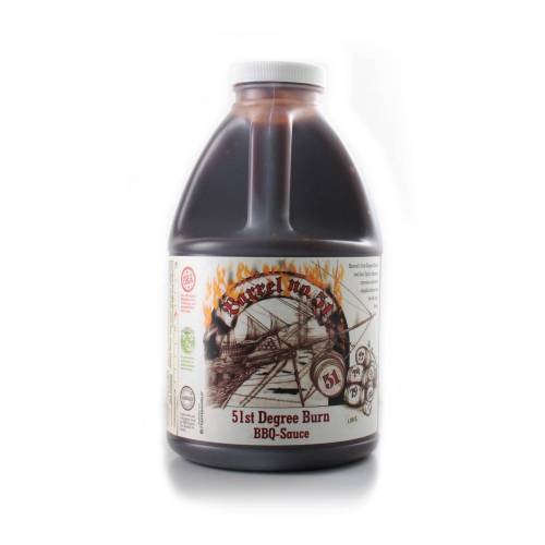 Barrel No. 51 Barrel 51st Degree Burn BBQ Sauce - 1,89l