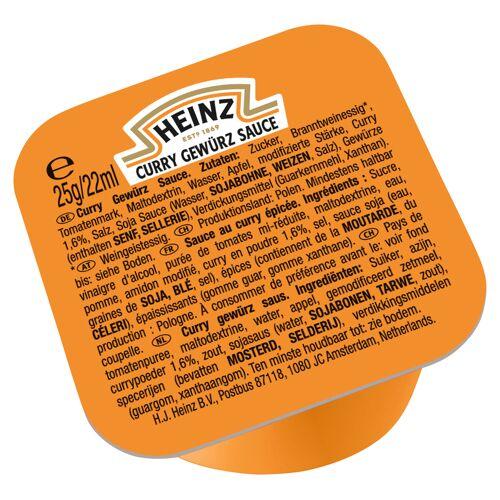 KraftHeinz Foodservice Curry Gewürz Ketchup 25g Dip Pot (100 Stück) - Heinz