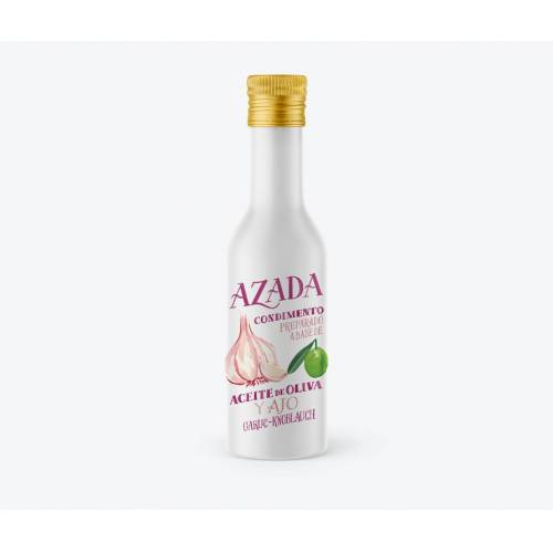 AZADA Olive Oil Olivenöl und Knoblauch 225 ml - AZADA
