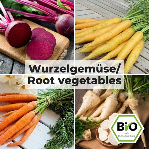 Pepperworld Wurzelgemüse - Gemüse Saat Sortiment