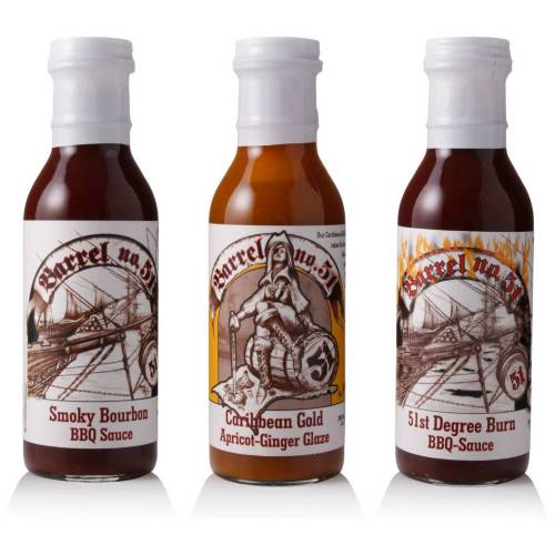 Barrel No. 51 Barrel 51 - BBQ Bundle (3er Set)