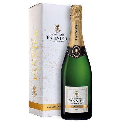 Pannier Champagne Brut AOC Selection Pannier 0,75 ℓ, Flaschenetui