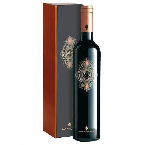 Duca di Salaparuta Antico Liquorvino Amarascato (Ala) Duca di Salaparuta 500 ml, Flaschenetui
