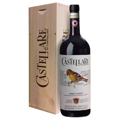 Castellare di Castellina Chianti Classico DOCG Castellare di Castellina 2018 Magnum 1,5 L, Holzkiste
